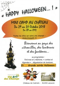 IMAGE CAMP HAPPY HALLOWEEN AU CHATEAU